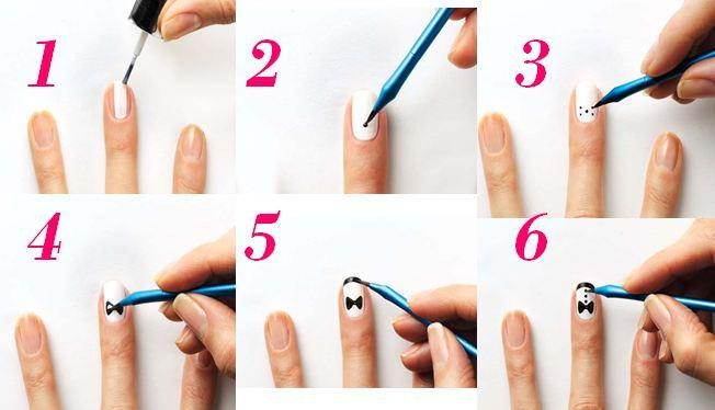 Nail Art Images Step By Step