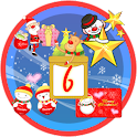 Christmas Sticker Widget Sixth logo