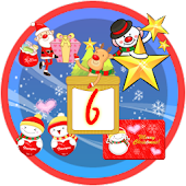 Christmas Sticker Widget Sixth