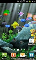 Screenshot of Aquarium Live Wallpaper HD