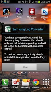 Samsung Log Converter 4.0+- screenshot thumbnail