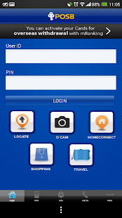 POSB mBanking- screenshot thumbnail
