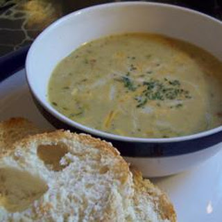 Vegetable Cheese Soup I