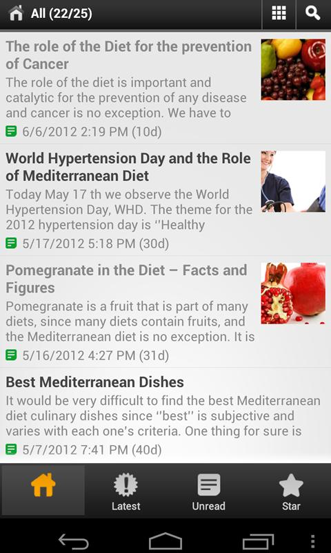 Mediterranean Diet For All - screenshot
