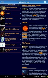 Britannica Kids: Solar System - screenshot thumbnail