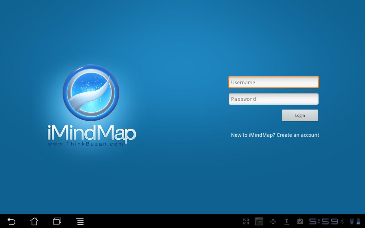iMindMap HD - screenshot