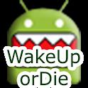 WakeUp Or Die! Alarm Clock logo