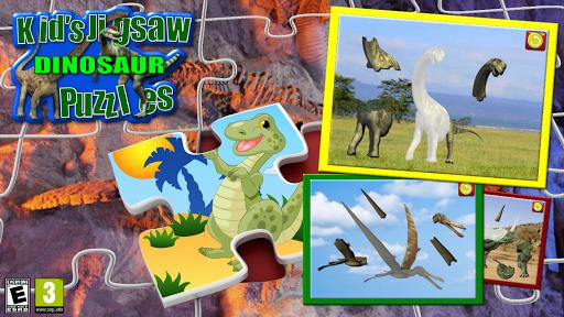 孩子們的恐龍拼圖