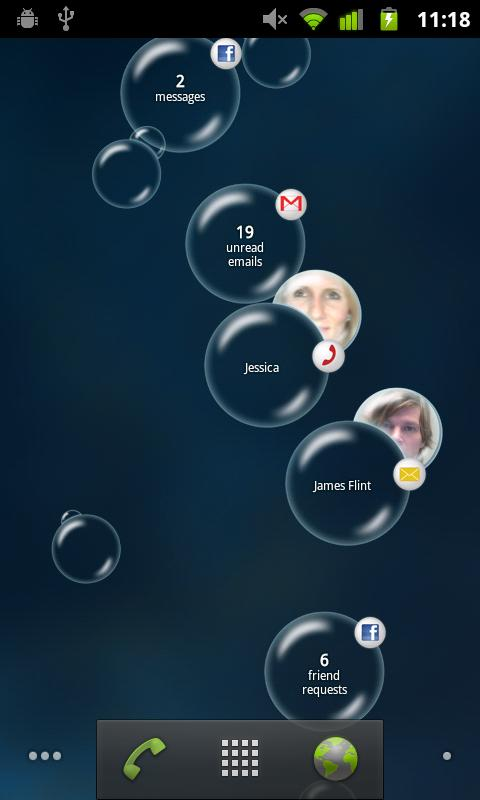 Notification Bubbles- screenshot