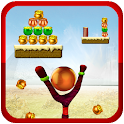 Golden handi Knock down game icon