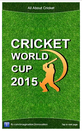 附表板球ODI2015年世界杯