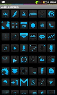 Vapor Ice (Icon Pack) HD *FREE - screenshot thumbnail