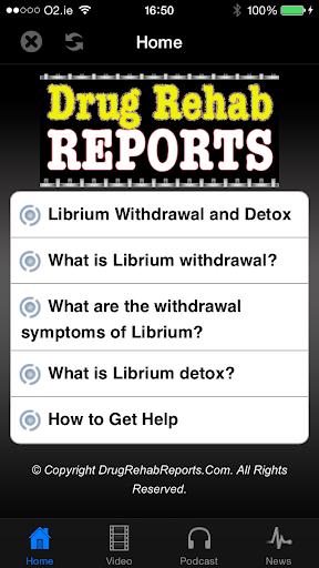 Librium Withdrawal Detox