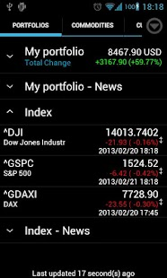 Portfolio Watcher- screenshot thumbnail