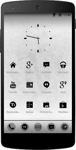Apex Nova - Pure Black Icons