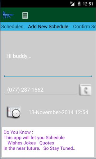 SMS Scheduler Plugin