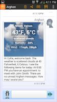 Screenshot of Arghon AIE, Virtual Assistant