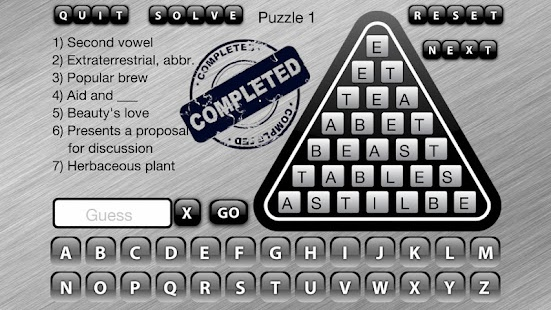 Word Triangle - screenshot thumbnail