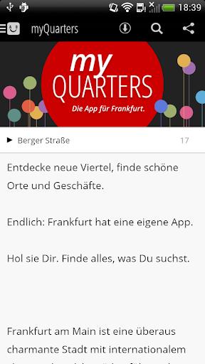 myQuarters Frankfurt