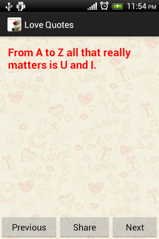 Love Quote Valentines day free