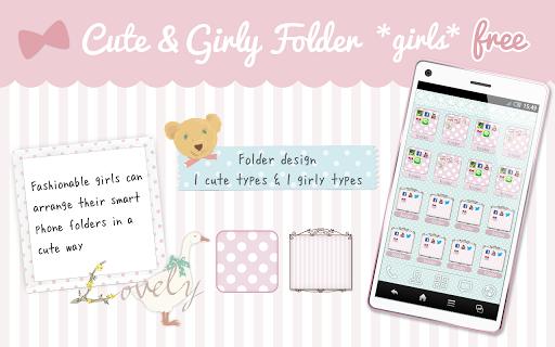 Cute Girly folder *girls* free
