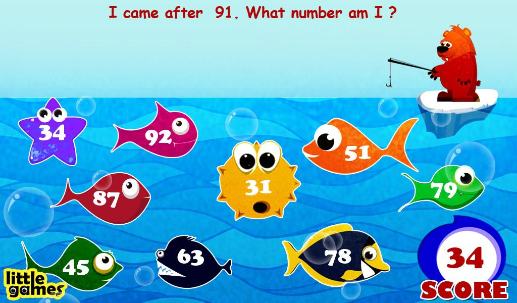 Kids Number Fishing - screenshot