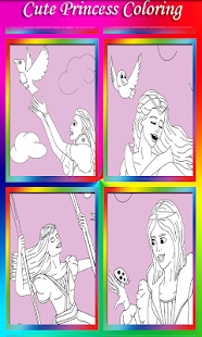 Princess Coloring Book for kid - screenshot thumbnail