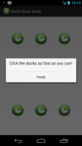 Duck Duck Gone