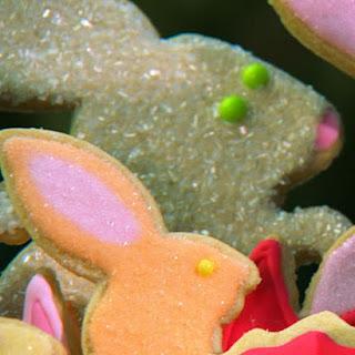 Hatching Bunny Cookies.