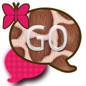 GO SMS THEME/PinkGiraffe