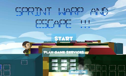 Sprint Warp And Escape