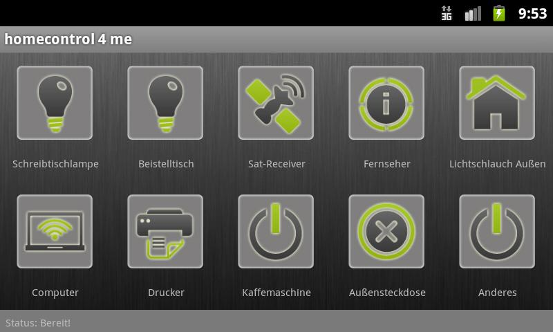 homecontrol4me- screenshot