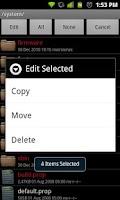 Screenshot of Root File Browser Alpha