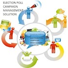 Election Vote Poll Campaign IN icon