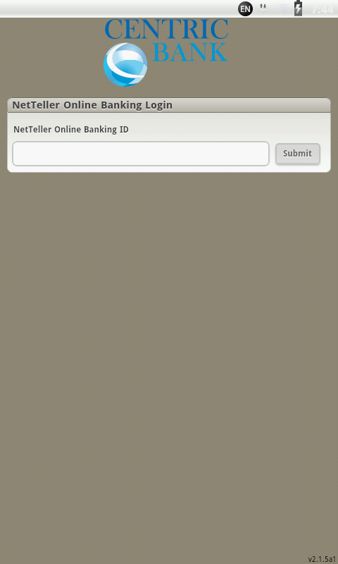 Centric Mobile Banking - screenshot