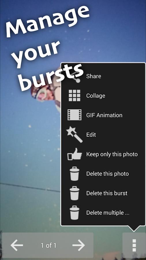 Fast Burst Camera - screenshot