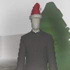 Slender-Man Xmas icon