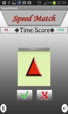 Speed Match - Matching Game 1.2 screenshot 58094