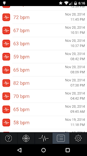 Instant Heart Rate Screenshot 3