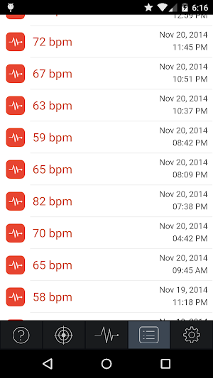 2 Instant Heart Rate App screenshot