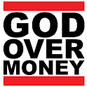 God Over Money logo
