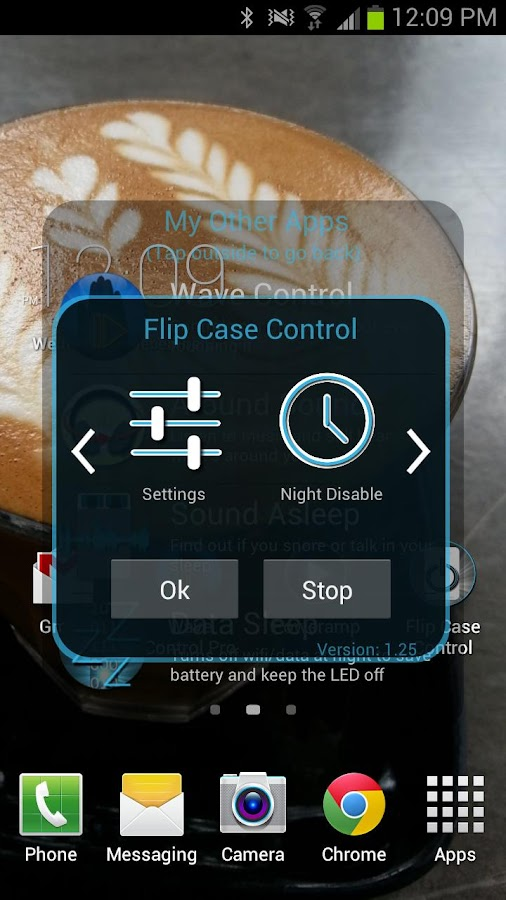 Flip Case Control - screenshot