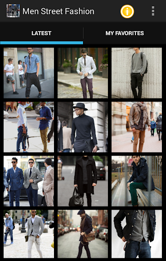 街头时尚男装2015年