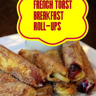 French Toast Breakfast Roll-Ups