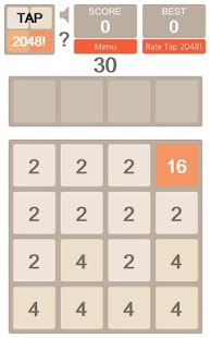 Tap 2048!- screenshot thumbnail