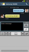 Screenshot of Samsung keyboard Note 3/10.1