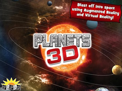 Popar Planets 3D Book- screenshot thumbnail