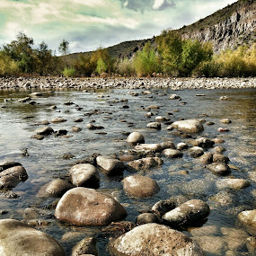 Follow Me  by Deb Bulger - Nature Up Close Rock & Stone ( mountains, android, hdr, nature, waterscape, landscape, rivers, rocks, deserts,  )