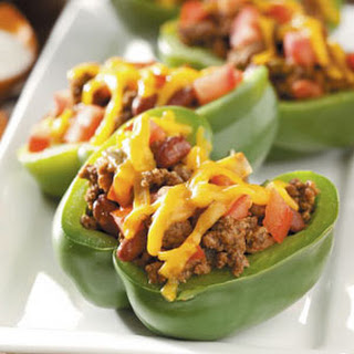 Taco-Filled Peppers