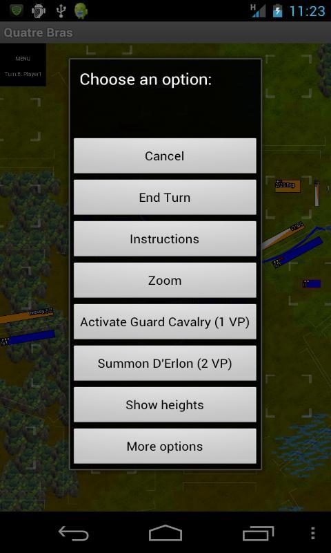 Napoleonics: Quatre Bras- screenshot
